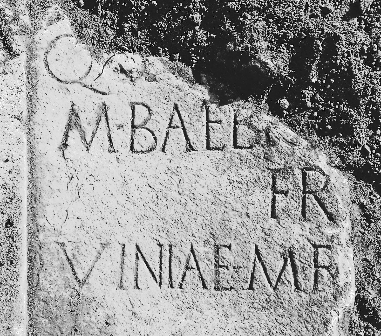 Aquino (FR) Necropoli orientale - 2018  Scavi ampliamento cimitero comunale.