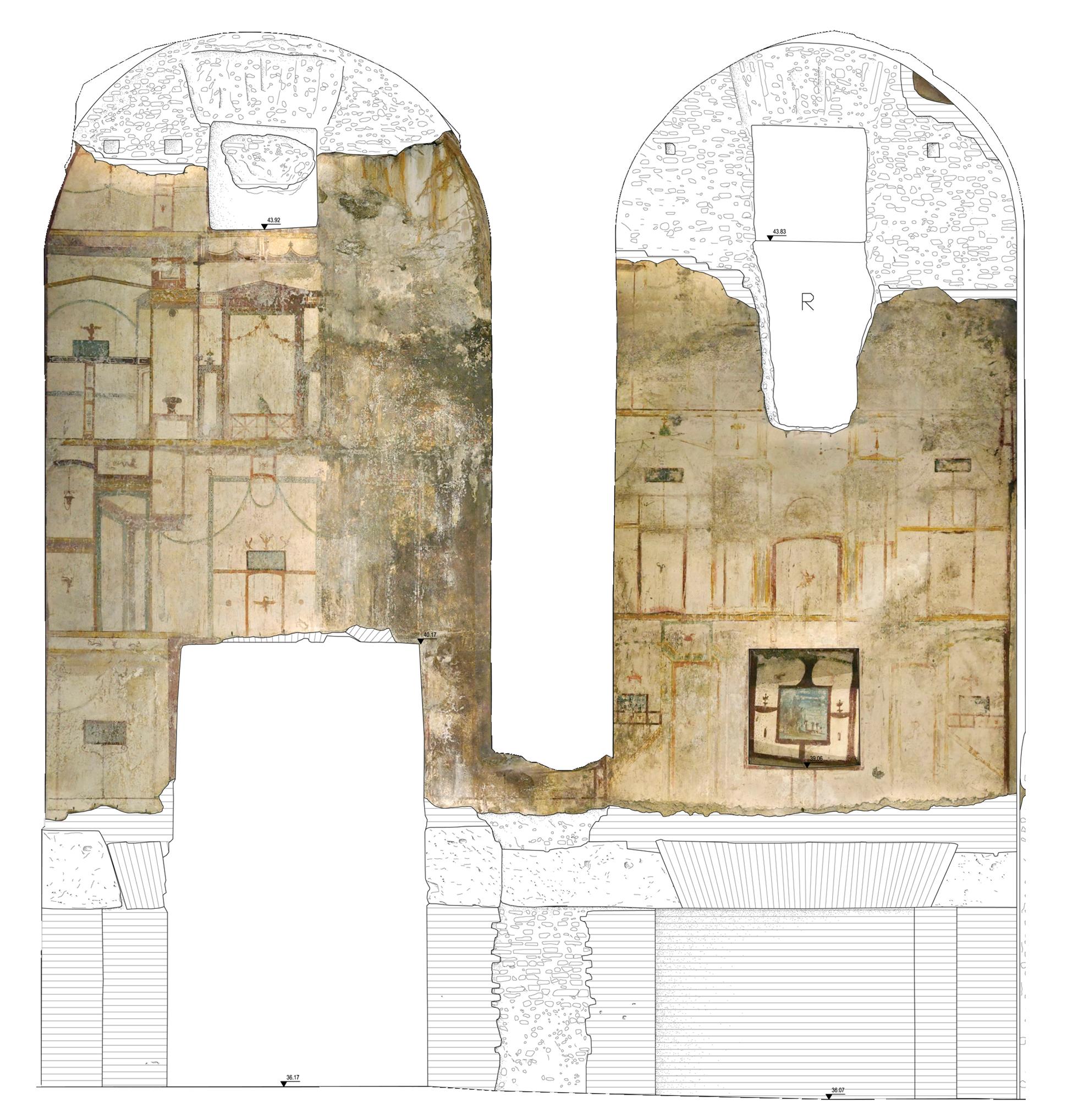 Domus Aurea.  Roma - 2010_2019  Rilievo e documentazione  grafica.